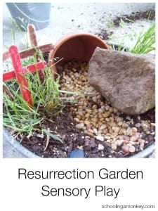 Resurrection Garden Sensory Play