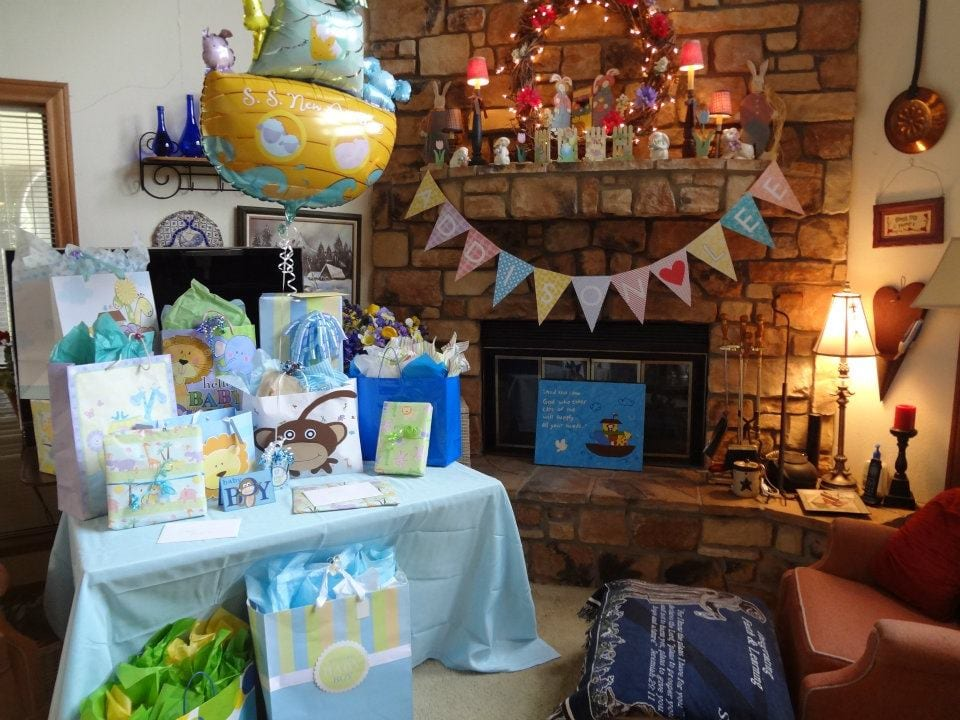Noah's Ark-Themed Baby Shower