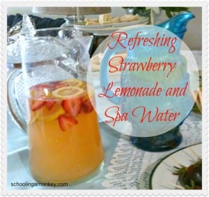 Recipes: Refreshing Strawberry Lemonade and Spa Water