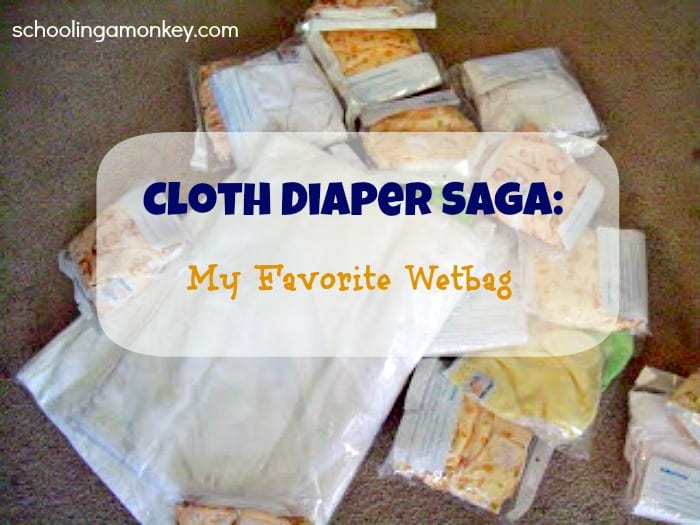 Cloth Diaper Saga: My Favorite Wetbag
