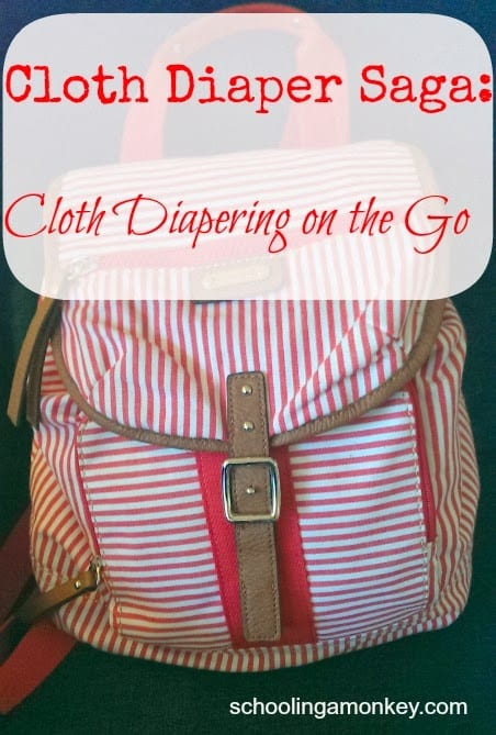 Cloth Diaper Saga: Diapering on the Go
