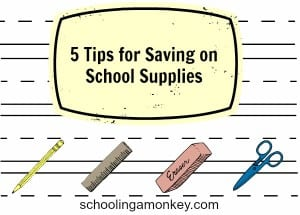 5 Tips for Saving on School Supplies