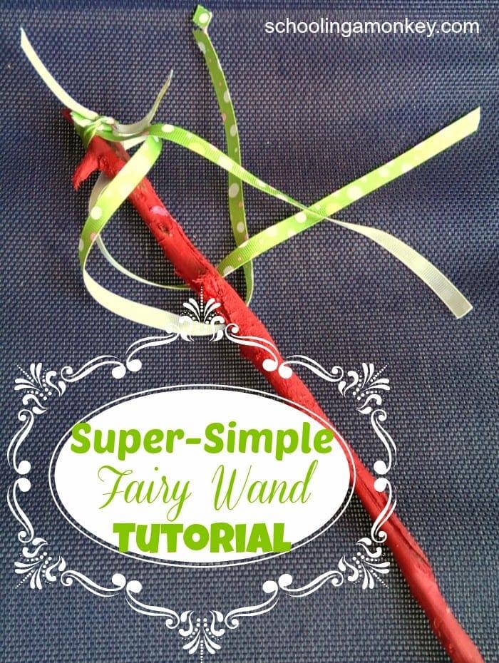 Super-Simple Fairy Wand Tutorial