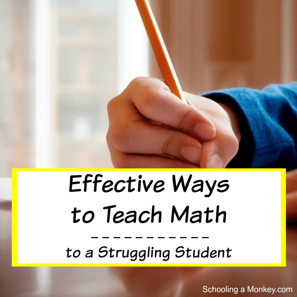 Use these tips to teach math to a struggling student.