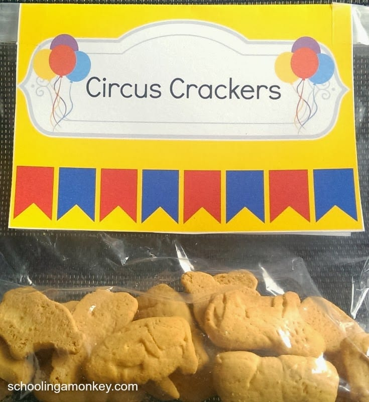 Planning A Circus Party Make Sure Your Menu Is Also On Theme