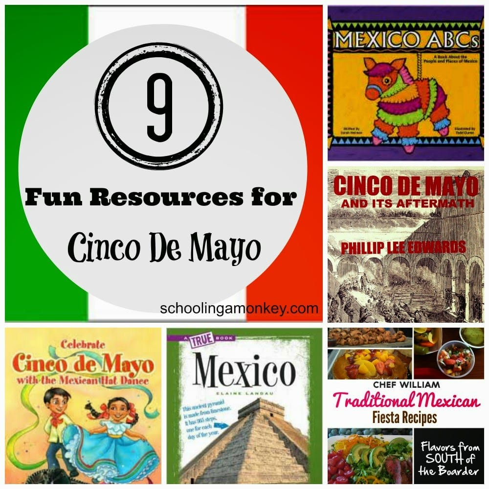 Cinco de Mayo is a time to learn about Mexico and Mexican traditions. These Cinco de Mayo books will help students learn more about Mexican culture.