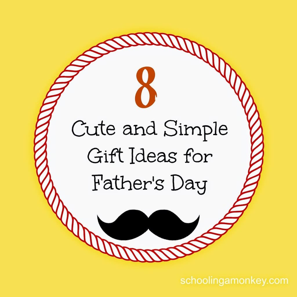 Looking for creative gift ideas for Father's Day? These cute crafty ideas will be treasured by dad for years to come and are easy for kids to make!