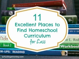 11 Excellent Places to Find Homeschool Curriculum for Less