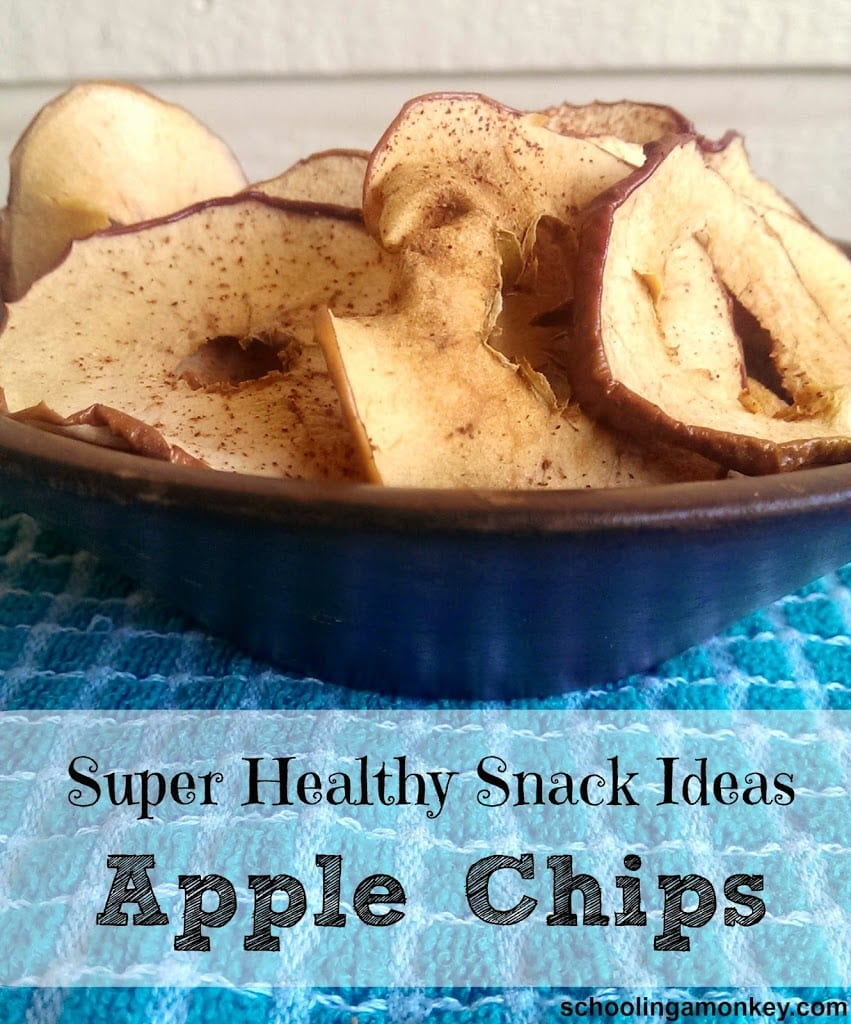 Love apples? Then you will love this healthy and simple apple chips recipe! No dehydrator needed!