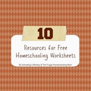 10 Great Resources for FREE Printable Worksheets