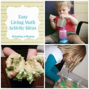 How We Encourage a Love of Learning: Easy Living Math Activity Ideas for Kids of All Ages