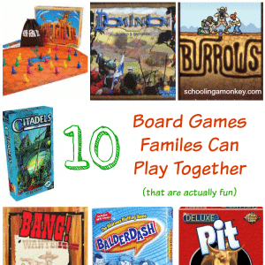 Gift Ideas: 10  Board Games Families Can Play Together (that are actually fun)