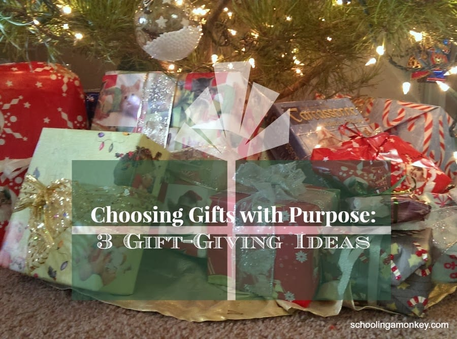 Looking for gift giving ideas for your kids? These three gift giving ideas offer something that will work for every family and won't break the budget.