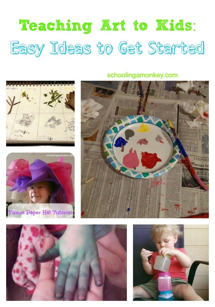 Easy Art Ideas For Teachers Teaching Art to Kids Easy Ideas to Get Started Schooling a Monkey
