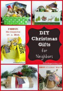 DIY Christmas Gift Ideas for Neighbors:  Sunshine in a Box
