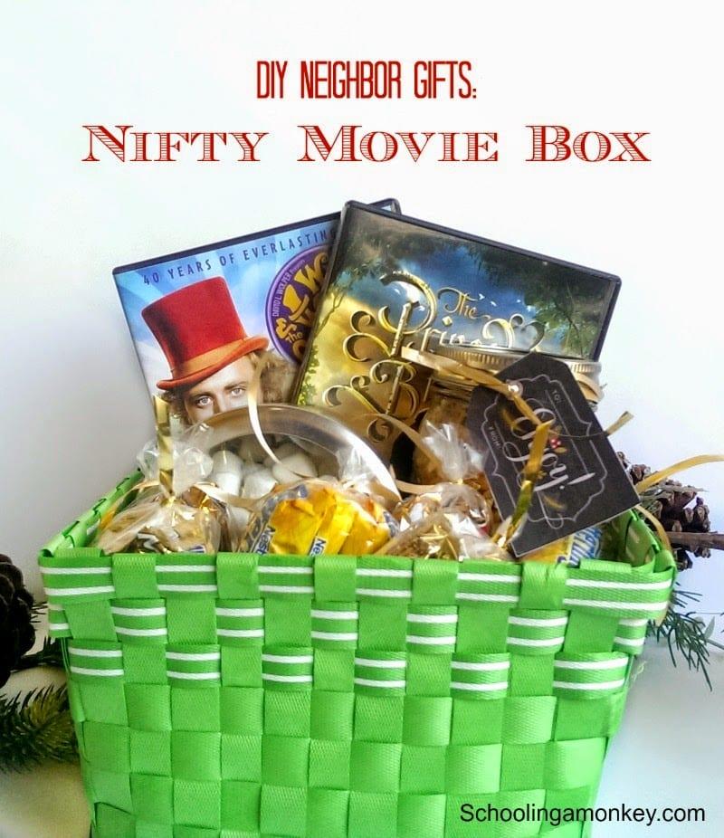 DIY Christmas Gift Ideas for Neighbors: Nifty Movie Box