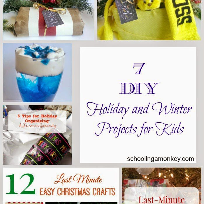 7 DIY Holiday and Winter Projects for Kids