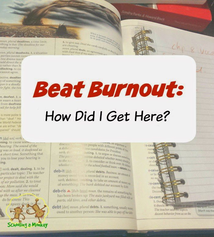 If you're struggling with homeschool burnout, you may be wondering how you got there. This post can help you discover why you're feeling burned out!