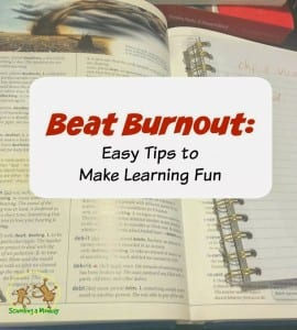 Beat Burnout: Easy Tips to Make Learning Fun