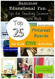 The best STEM activities boards from Pinterest! -Schooling a Monkey