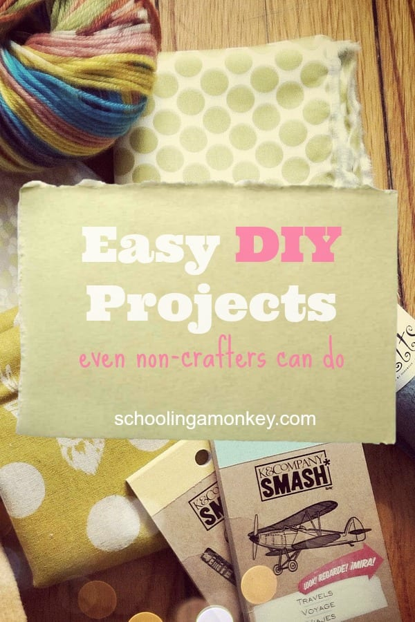 Love DIY but don't have a lot of time? These easy DIY projects can be completed in no time and with few supplies!