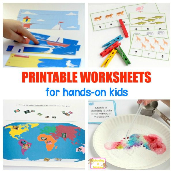 Printable Worksheets for Kids!