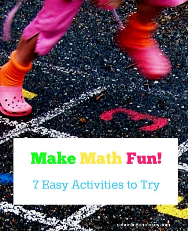 If your children are struggling with math, make learning enjoyable again with these 7 ways to make math fun!
