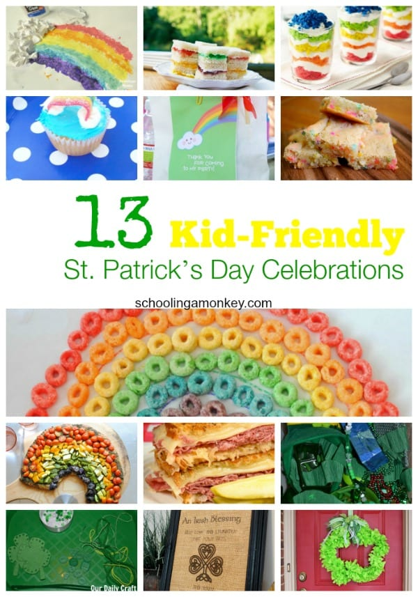 St. Patrick's Day doesn't have to be all about alcohol. Here are 13 Kid-Friendly Ways to Celebrate St. Patrick's Day at home!