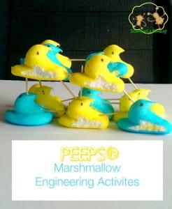 4 PEEPS® Marshmallow Engineering Activites