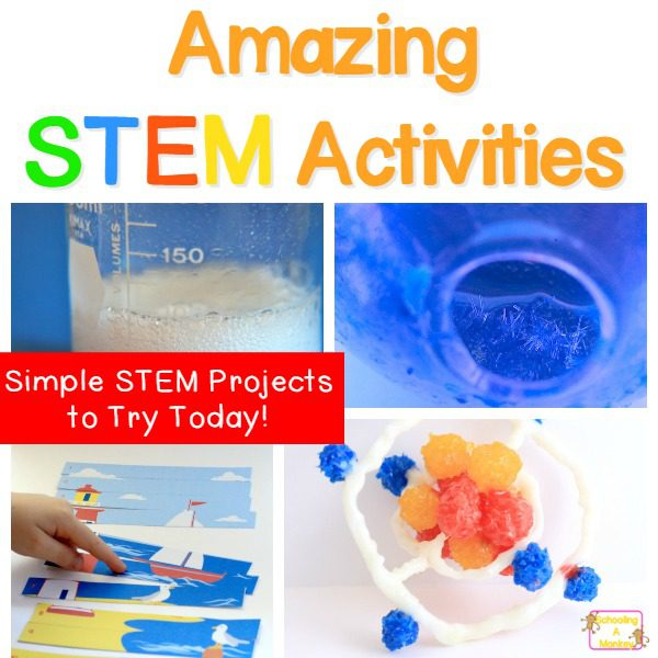 Need more science, technology, engineering, or math in your classroom? These STEM activities are the perfect STEM enrichment activities for kids and include hundreds of STEM ideas as a list of STEM activities. It's the ultimate STEM challenge!