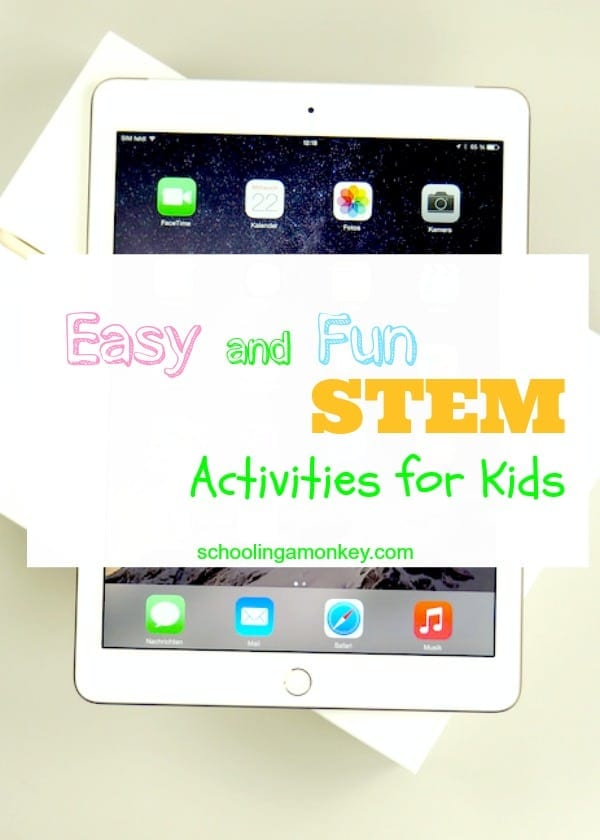 Need more science, technology, engineering, or math activities? You've come to the right place! These STEM activities for kids are fun and educational!