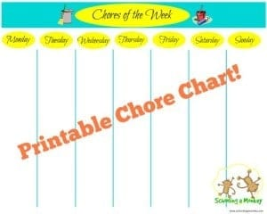 Is your house always messy? These 5 strategies can help you keep a clean house while homeschooling. Includes FREE printable chore chart!