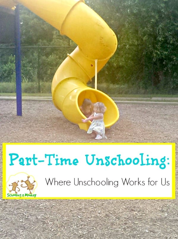 Considering the unschooling homeschool method? You don't have to unschool every subject. Here is how we make unschooling work in our homeschool.