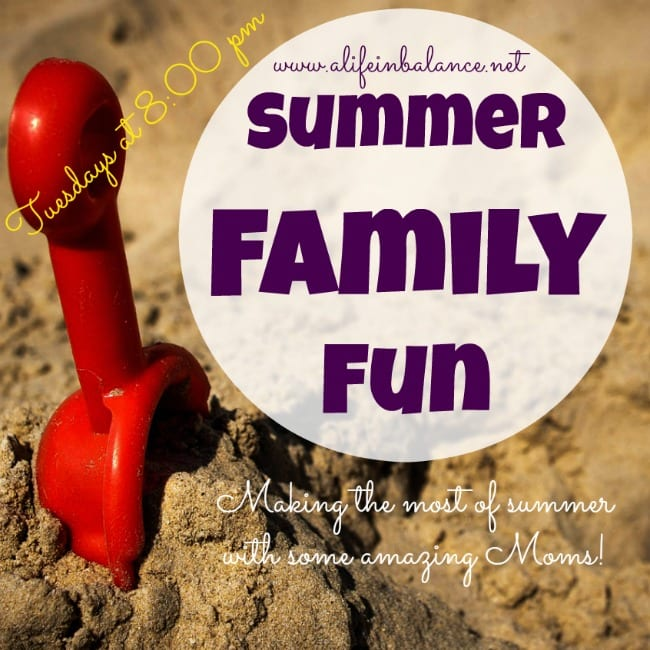 Looking for creative ideas for summer family fun? Look no farther than this link party!