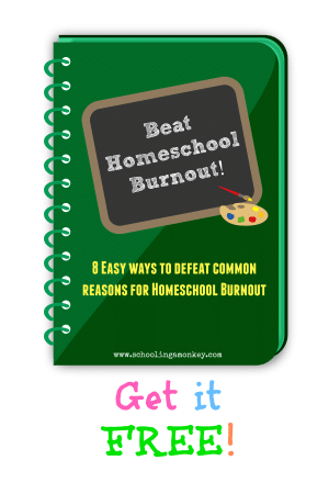 Free and fun homeschooling and crafting ideas at Schooling a Monkey