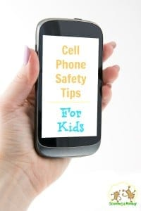 31 Days of STEM Activities for Kids: Cell Phone Safety Tips