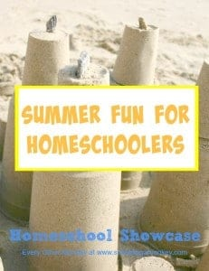 Do you homeschool? Want something fun to do this summer? This edition of the Homeschool Showcase is full of summer fun for homeschoolers!