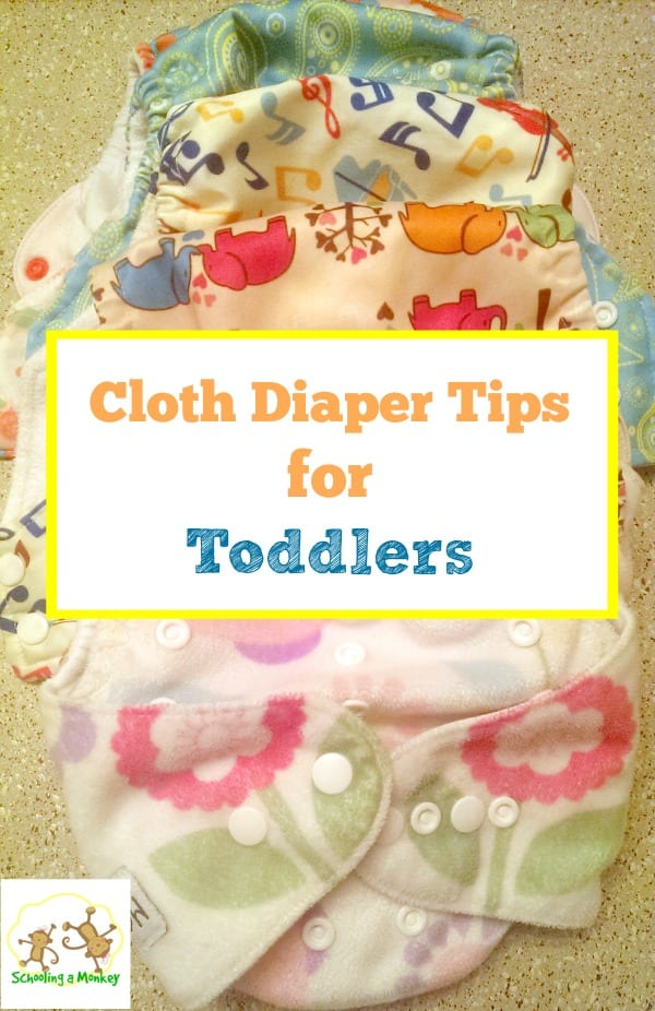 Using Cloth Diapers for Toddlers