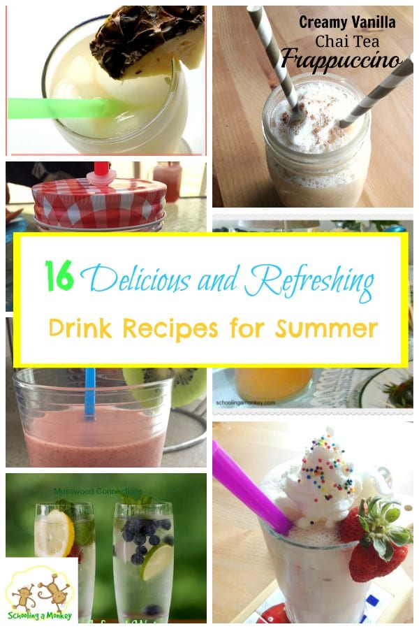 Feeling the heat? Cool off with these amazingly refreshing drink recipes for summer!