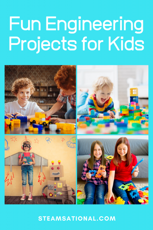Want to explore engineering with your STEM education? These engineering projects for kids are easy, fun, and don't take long to complete!