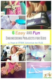 31 Days of STEM Activities for Kids: 6 Easy and Fun Engineering Projects for Kids