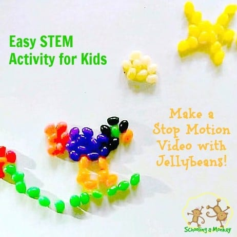 Technology activities for kids: Make a stop motion video!