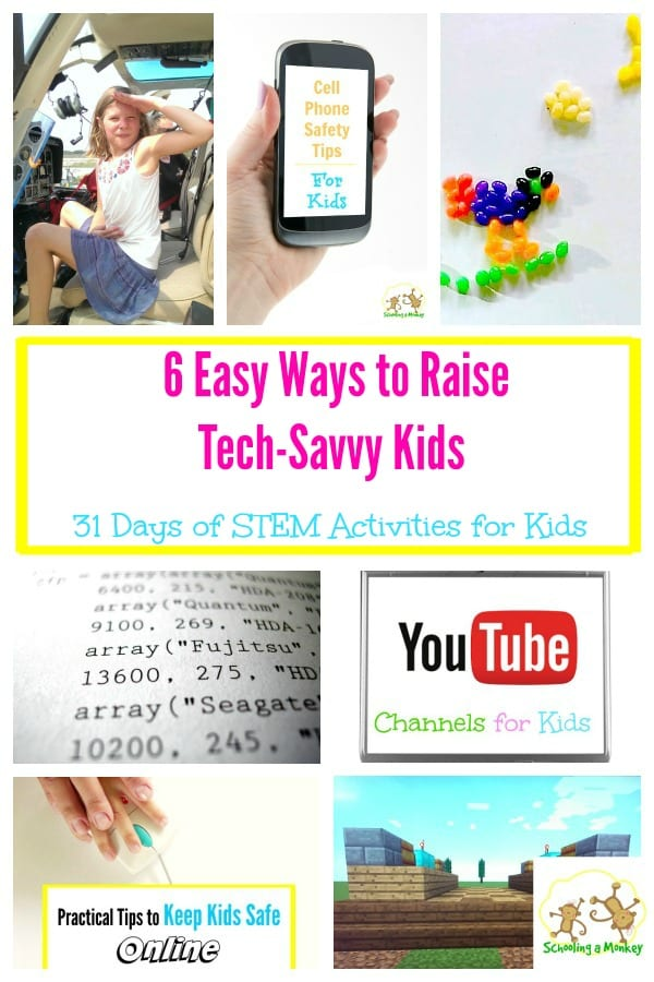 The world of technology is ever-changing. Use these 6 Easy Ways to Raise Tech-Savvy Kids to teach your kids how to navigate the challenging environment!