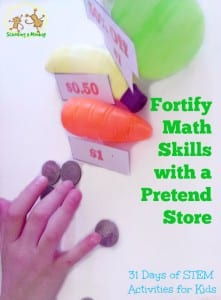 Kids a bit rusty on their math skills? This living math play store math activity is tons of fun and super educational!