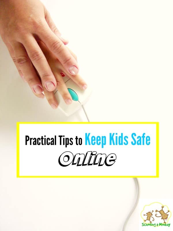 The Internet can be a scary place for kids. Use these 9 practical tips to help keep kids safe online!