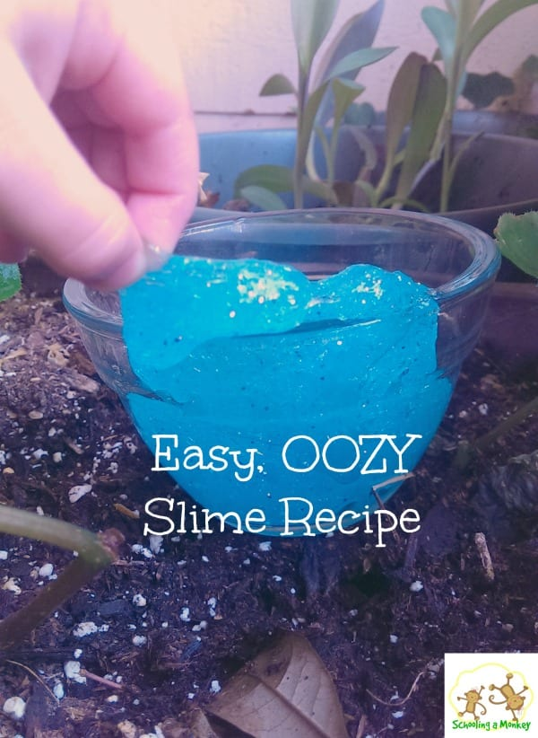 Looking for easy STEM activities for kids? Look no further than this easy slime chemistry experiment!