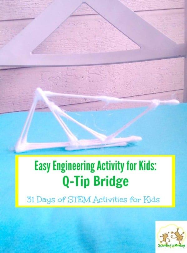 Q-Tip Bridge Engineering Challenge