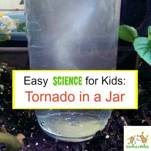 31 Days of STEM Activities for Kids: Tornado in a Jar