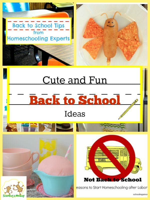 Cute and Fun Back to School Ideas