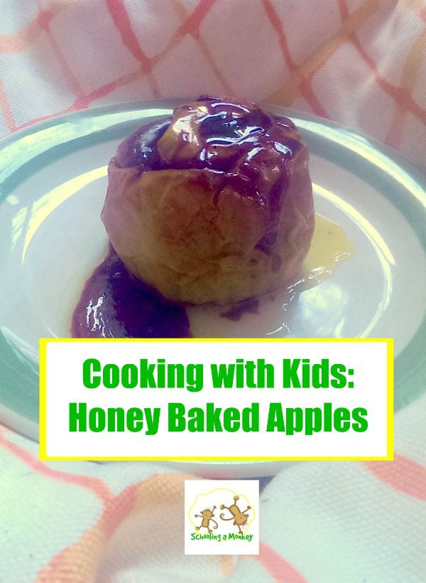 Apple Activities for Kids: Honey Baked Apples